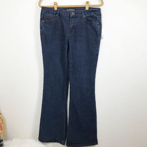 d. jeans size 12  cotton, polyester and spandex